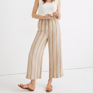 [NWT] Madewell Huston Wide Leg Crop Pants
